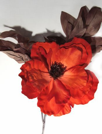 Poppy Large Decor Single Stem