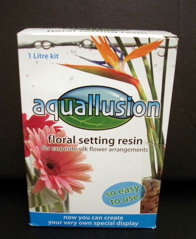 Aquallusion Floral Resin Artificial Water Just Artificial