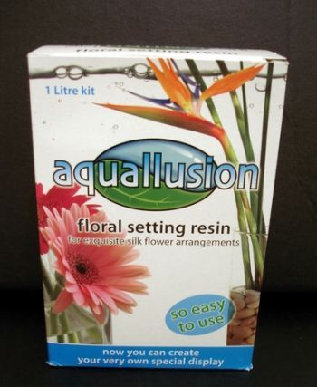 Aquallusion Floral Resin