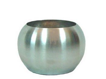 Ista Aluminium Round Desktop Vase