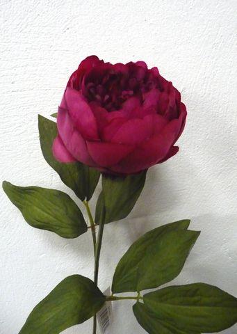 Silk Peony Flower
