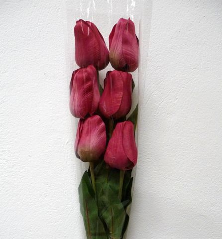 Artificial Silk Tulip Flowers Single Stem :: Just Artificial