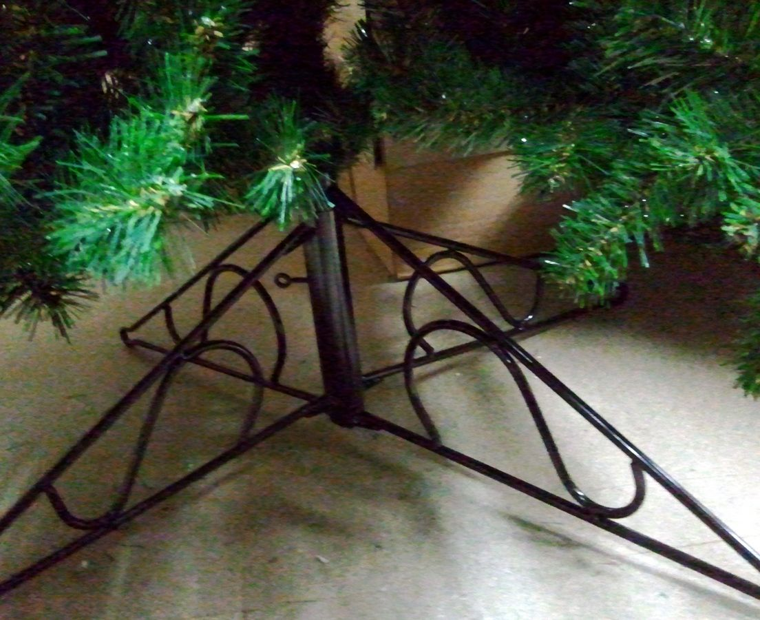 Artificial Slim Glacier Christmas Tree :: Just Artificial