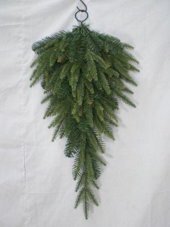 English Pine Christmas Drop Tree