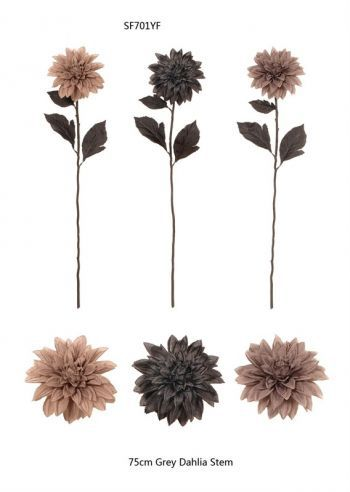 Dahlias Silk Single Stem