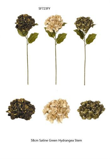 Hydrangea Silk Single Stems