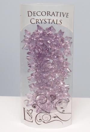 Decorative Acrylic Snow Flakes Crystals