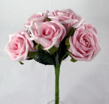 Rose Bud Polyfoam Bouquet