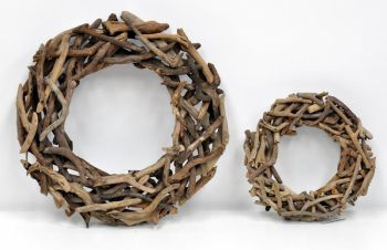 Decorative Wood Wreath