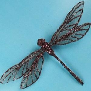 Mesh Glittered Dragonflies