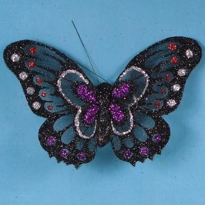 Glittered Butterflies, Two Tone