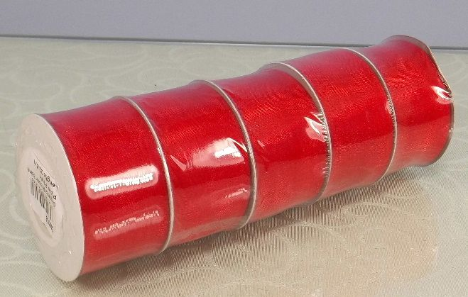 Photo shows the width of the ribbon. Each sold separately