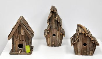 Decorative Wood Bird House