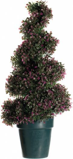 Heather Topiary Leaf Spiral Tree