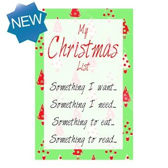 Christmas List Plaque