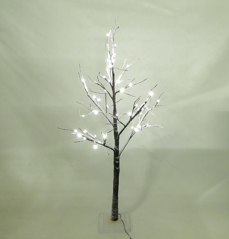 Snowy Artificial Christmas Tree