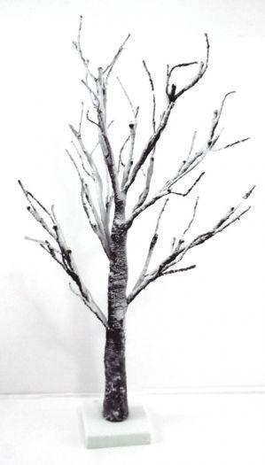LED Snowy Twig Tree