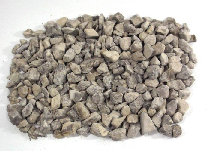 Limestone Chippings - Shown when dry