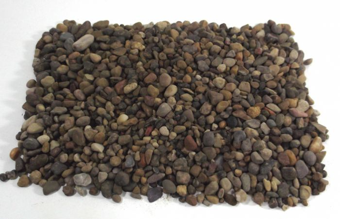 Pea Shingle Topping - Showing when Dry
