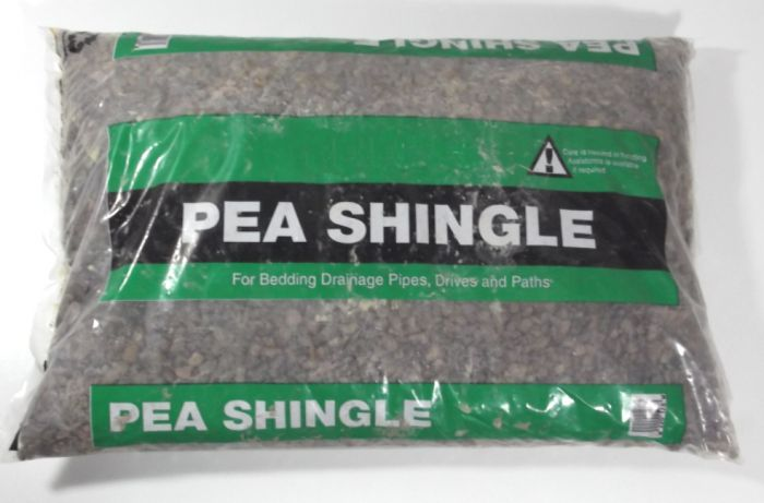 Pea Shingle Topping - Showing in Bag