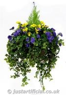 Pansy Deluxe Large Hanging Basket