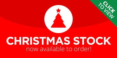 Christmas items in stock