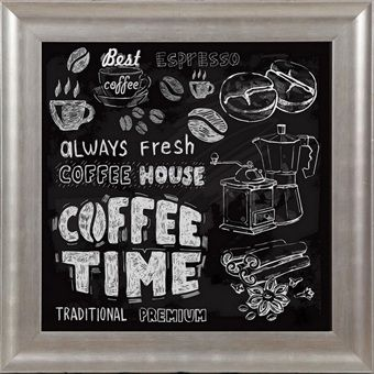 Coffee time framed