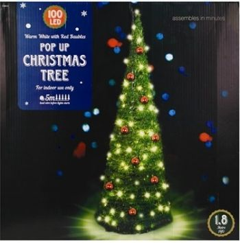 Artificial Pop-up Christmas Tree