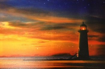 Lighthouse LED Canvas