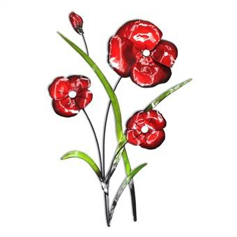 Poppy Bunch Wall Art