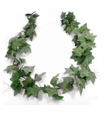 Flocked Ivy Garland