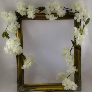 Ivory Blossom Garland