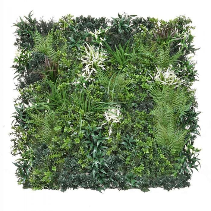 Showing one Artificial Green Wall panel 1m x 1m