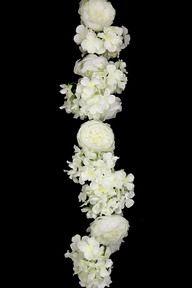 Rose, Peony, Hydrangea & Wisteria Garland