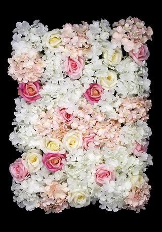 Rose/Hydrangea Flower Wall Panel