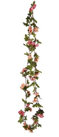 Rose Bud and Leaf Garland