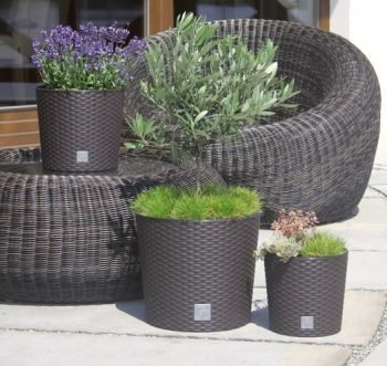 Round Tapered Rato Planter
