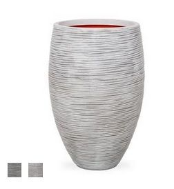 Deluxe Vase Planter - Ribbed
