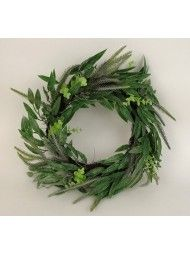 Mixed Foliage Wreath