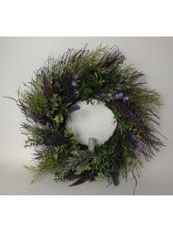 Lavender Foliage Wreath