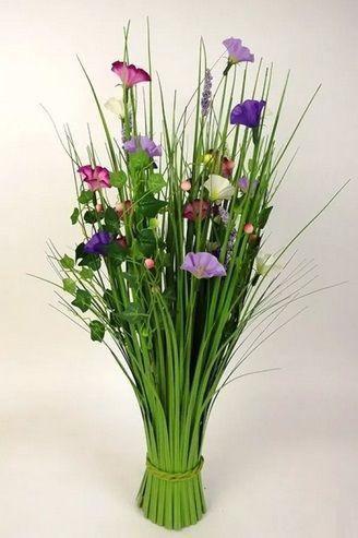 Artificial Silk Meadow Flower Bundle Just Artificial