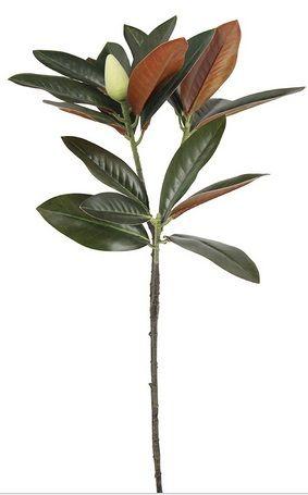 Artificial Silk Deluxe Magnolia Leaf Spray Just Artificial