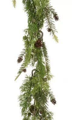 Mossy Cedar Garland