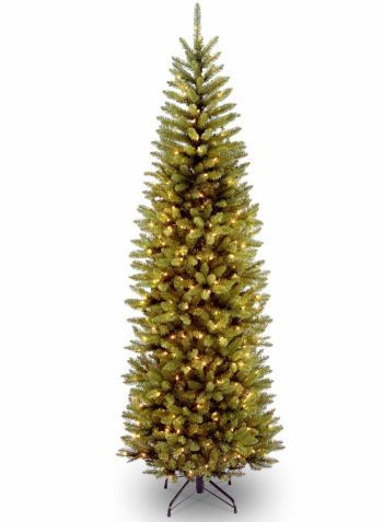 Luxury Artificial Kingswood Fir Hinged Christmas Tree LED