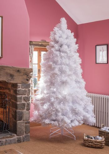 Luxury Artificial Snowy Elmwood Pine Christmas Tree
