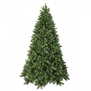 Luxury Artificial Linwood Pine LED Christmas Trees