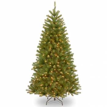 Luxury North Valley Spruce Artificial Christmas Trees LED