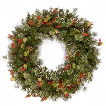 Wintry Pine Wreath