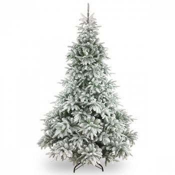 Luxury Frosted Andorra Fir Christmas Tree