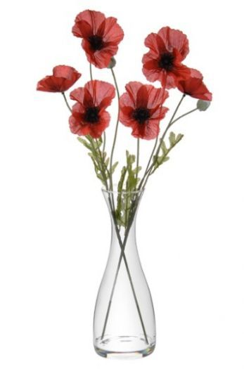 Artificial Poppy Flower Arrangement